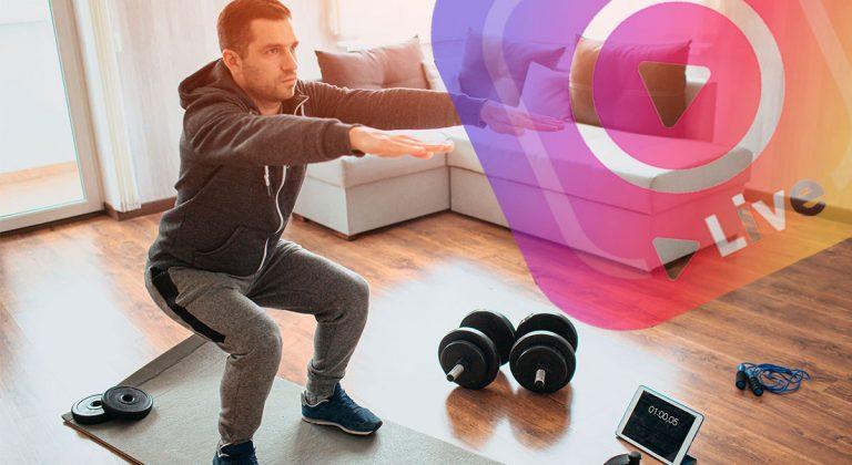 Deporte en cuarentena: Tips para entrenar en casa y clases por redes sociales