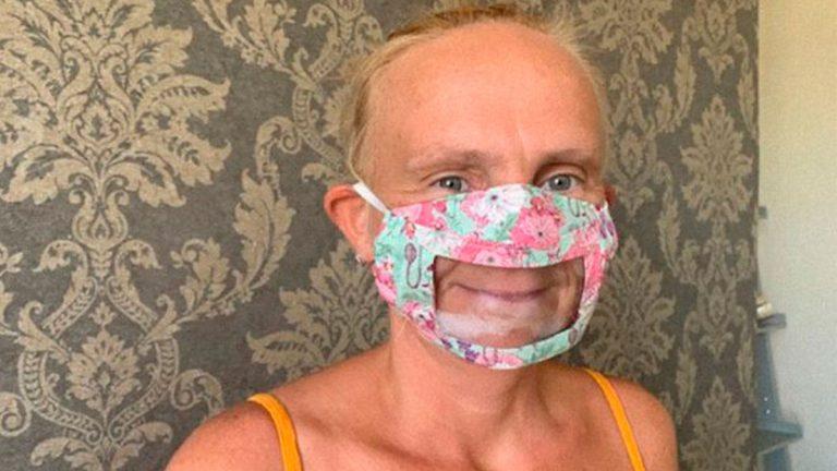 VIRAL: Mamá crea mascarillas con ventana transparente para leer los labios