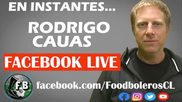 Rodrigo Cauas conversó con Foodboleros