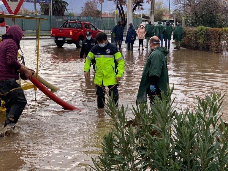 Onemi informa de 206 damnificados, más de 1.000 viviendas dañadas y 9 albergados por frente de mal tiempo