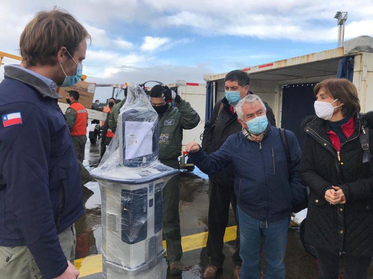 Ministro Paris llega a Chiloé para entregar ventiladores mecánicos y visitar residencias sanitarias