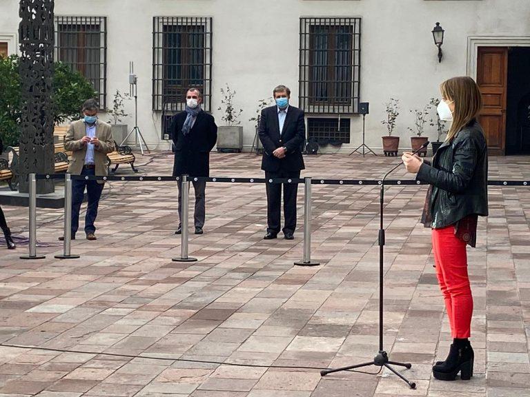 Piñera cuadra en su castillo a los presidentes de Chile Vamos