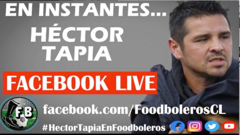 Héctor Tapia conversó con Foodboleros