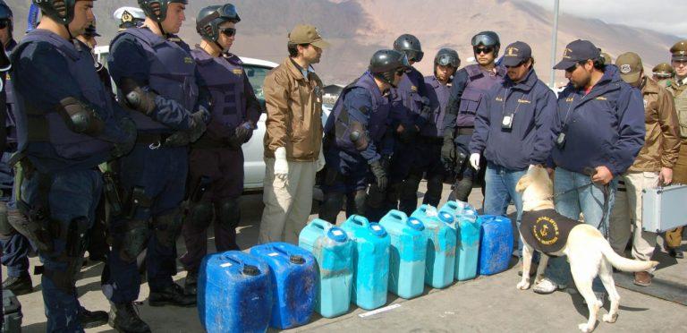 El auge de las vías marítimas del tráfico de droga en Chile