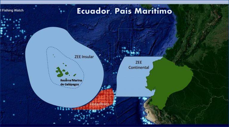 Comisión del Pacífico Sur condena la pesca ilegal en aguas internacionales tras reclamo de Ecuador por flota china