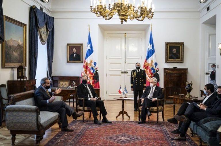 """Embajador argentino: """"Delimitación del borde externo de la plataforma continental no va a ser un problema para conversarlo como lo hemos venido conversando"""""""