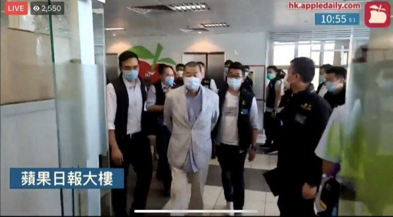 China sigue enterrando libertad de Hong Kong: detienen a magnate de medios aplicando nueva ley de seguridad