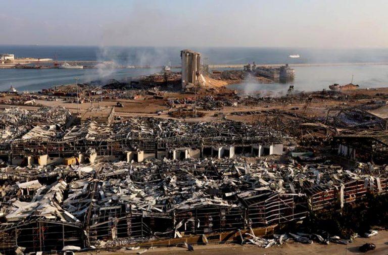 El desastre de Beirut y el barco sospechoso de la hecatombe que debió haber llegado a Mozambique