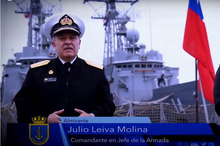Comandante en Jefe de la Armada da positivo para COVID