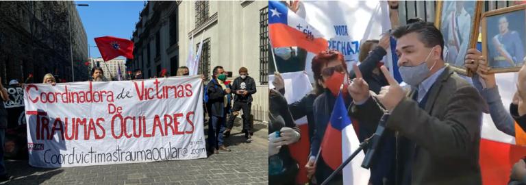 En Santiago se viven las dos caras del 11