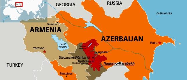 Cáucaso: Escala a nivel de guerra conflicto entre Azerbaiyán y Armenia