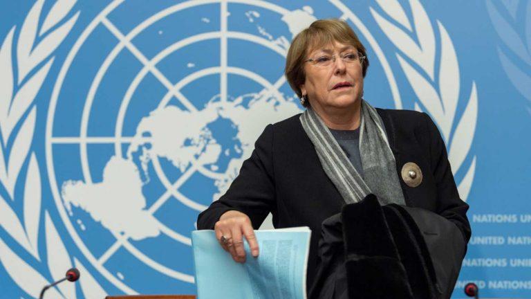 Bachelet denuncia más de 2.000 muertes en Venezuela en lo que va del año