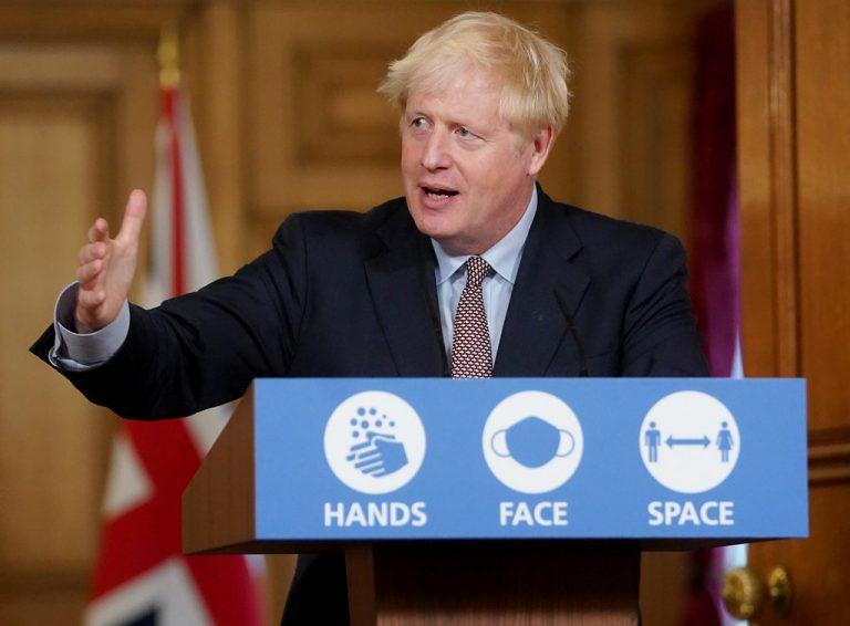 Premier británico alerta: Reino Unido entra en segunda ola de coronavirus