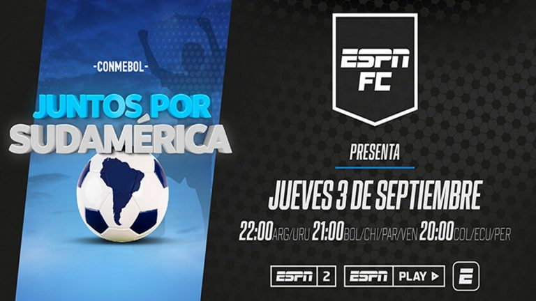 """CONMEBOL y Cruz Roja se unen con un objetivo solidario en """"Juntos por Sudamérica"""""""
