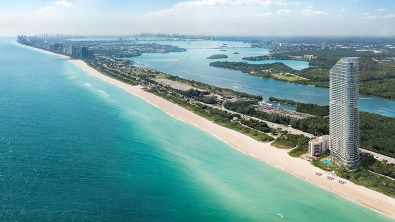 The Ritz-Carlton residences, Sunny Isles Beach, una maravilla arquitectónica en el sur de Florida