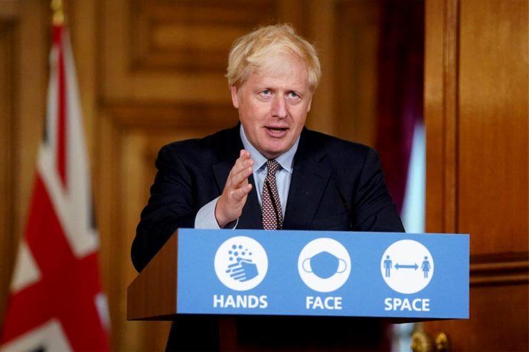 Brexit: Johnson afirma que la UE pretende romper la unión británica