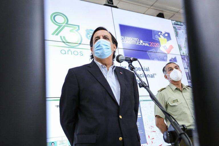 General Rozas contradice a ministro Pérez y descarta coordinación entre Carabineros y Ministerio de Defensa