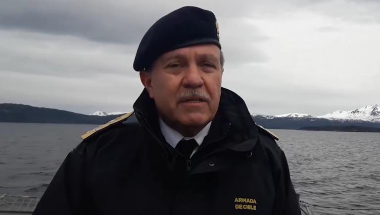 """Almirante Leiva: """"Nos vemos en la obligación moral de analizar las acciones legales que ameriten las graves injurias difundidas públicamente por el diputado Gutiérrez"""""""