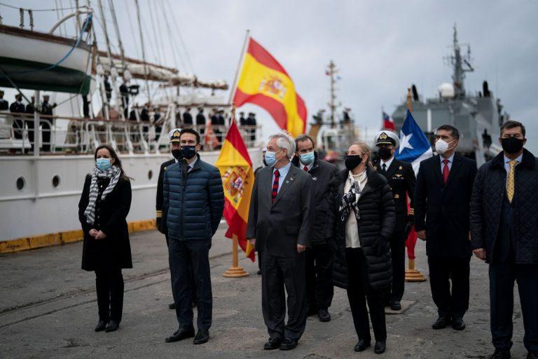 Chile conmemoró los 500 años del descubrimiento del Estrecho de Magallanes