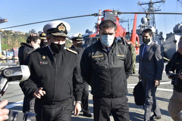 Ministerio de Defensa y Armada denuncian por graves injurias a diputado Gutiérrez ante la Fiscalía