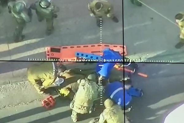 Atropellan a carabinero en manifestación en Plaza Baquedano