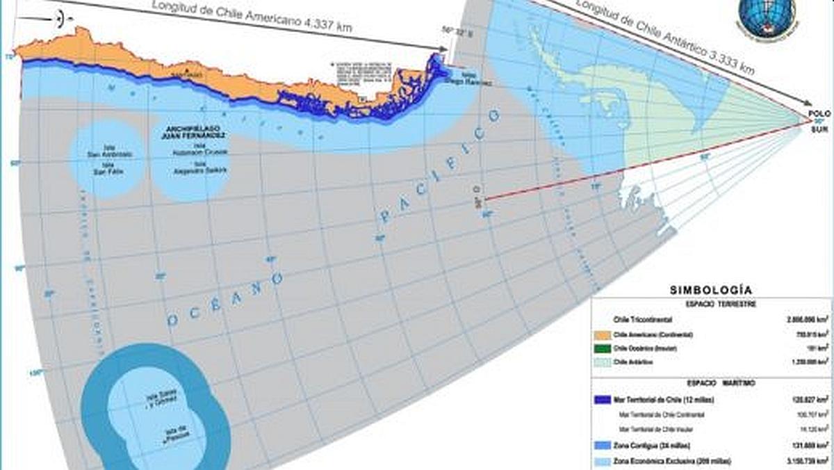 Canciller detalla la reclamación de plataforma continental extendida para  la Antártica en 2021 y desestima aspiraciones argentinas | Infogate