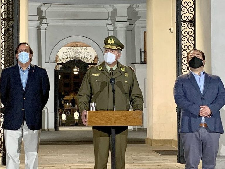 """18-O: General Rozas afirmó que este domingo """"ha quedado en evidencia quiénes son los delincuentes y quiénes son los vándalos"""""""