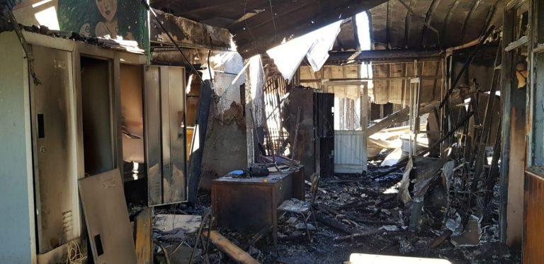 Mineduc presenta denuncia por incendio en Escuela de Cañete
