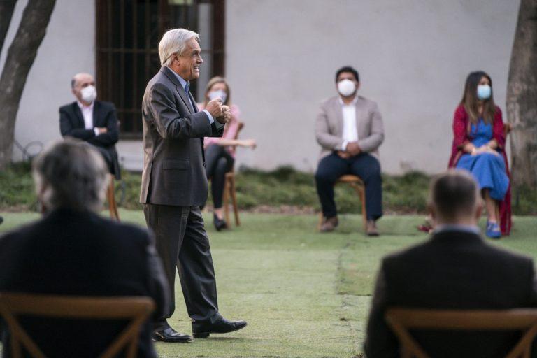 Piñera sigue sin entender lo que dijo la ciudadanía en el Plebiscito y pide lista única para Chile Vamos en la constituyente