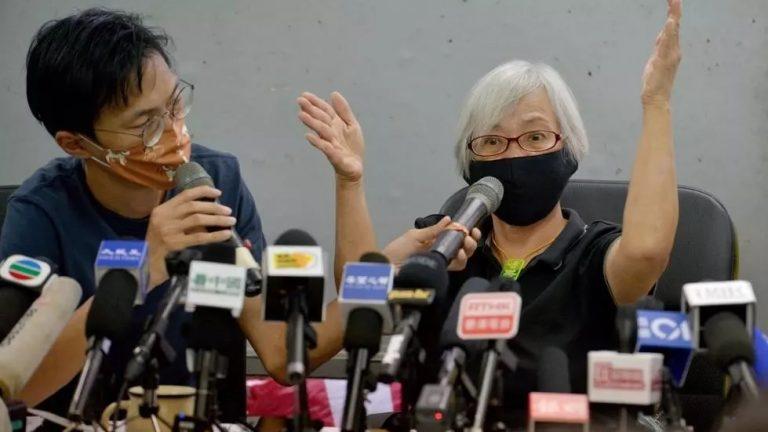 "Hong Kong: La activista ""abuela Wong"" denuncia haber sido retenida 14 meses en China continental"
