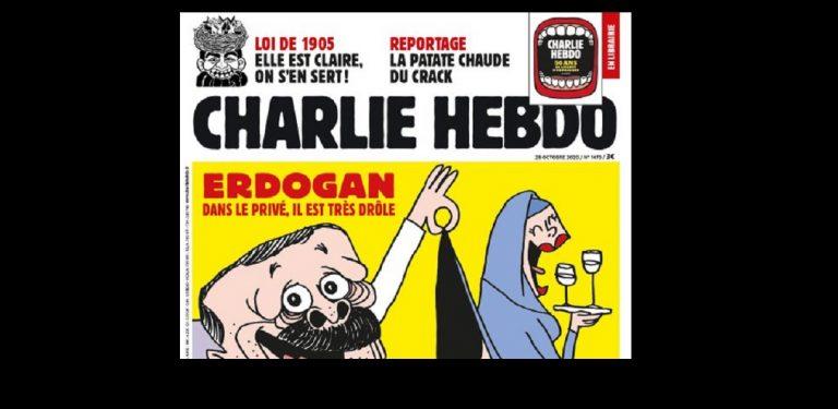 Francia atiza el malestar del mundo islámico al satirizar al  Presidente de Turquía