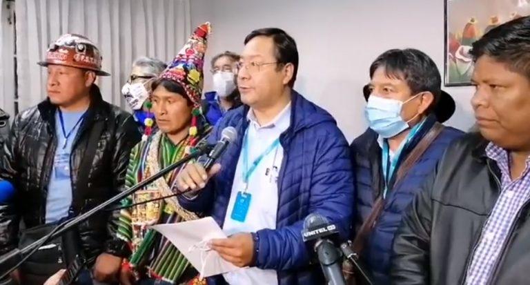 """Bolivia: elección a la """"argentina"""" elije Presidente a delfín de Evo, Luis Arce"""