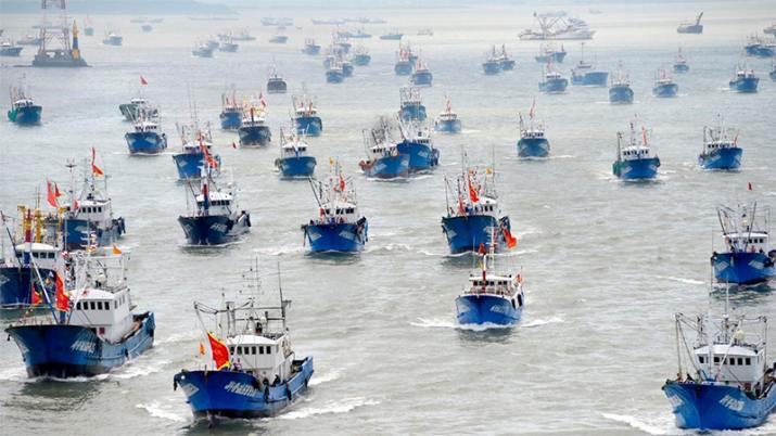 Cancilleres de países del Pacífico advierten que pesca de megaflota china pone en riesgo los recursos marinos