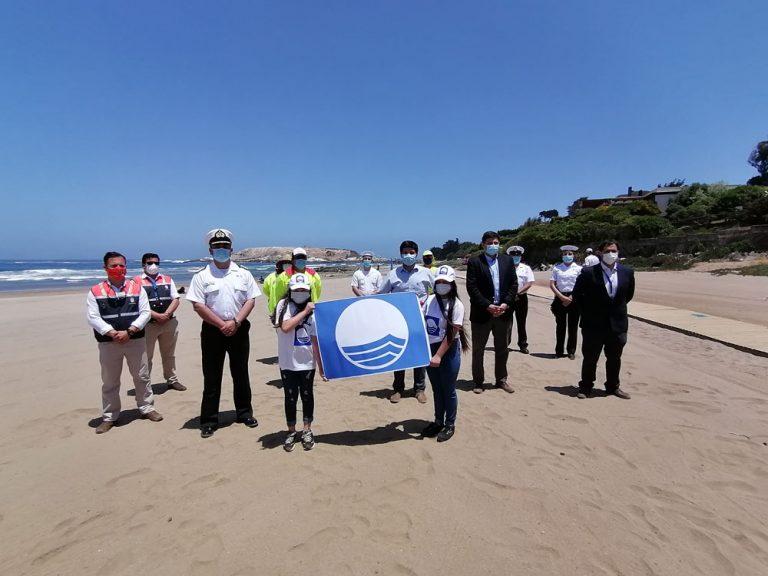 Playa de Chachagua obtiene primera certificación BlueFlag en Chile y del Cono Sur