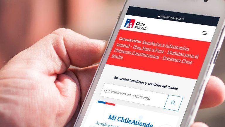 """Portal ChileAtiende orientará a las personas en situaciones """"claves de la vida"""""""
