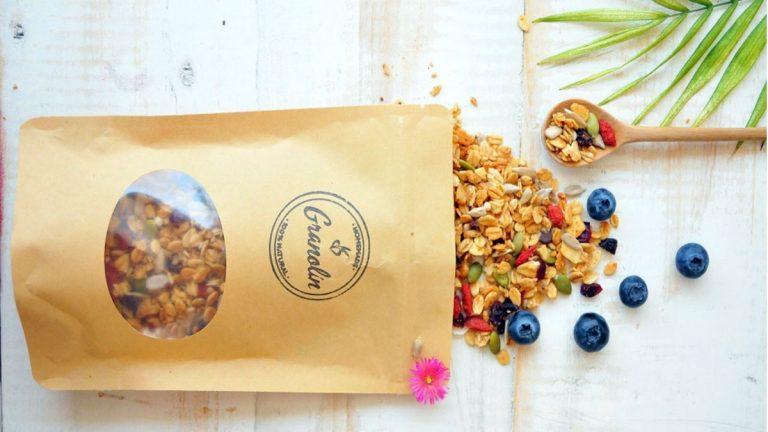 Emprendedora creó granola funcional, sustentable y sin aditivos