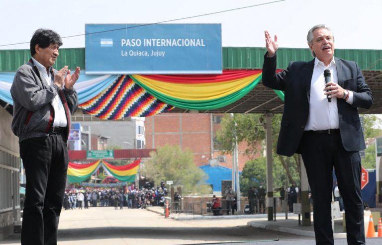 Desde su autoexilio en Argentina Evo Morales hace entrada triunfal a Bolivia