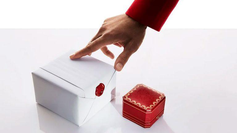 Cartier anuncia su nueva boutique online con entregas gratis en la puerta de tu casa