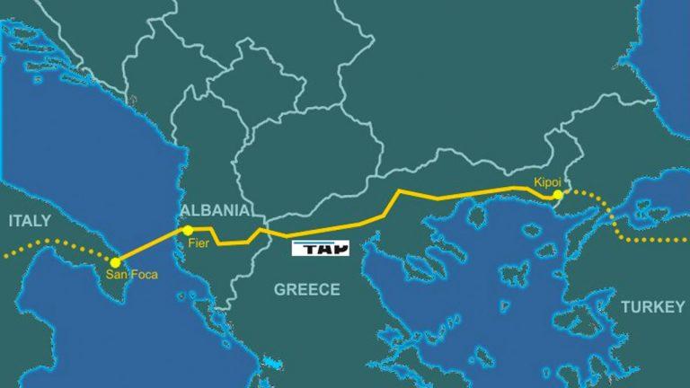 Gasoducto Trans Adriático (TAP) ya está en funcionamiento