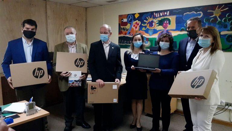 Cámara Aduanera de Chile dona computadores a hospital Claudio Vicuña de San Antonio