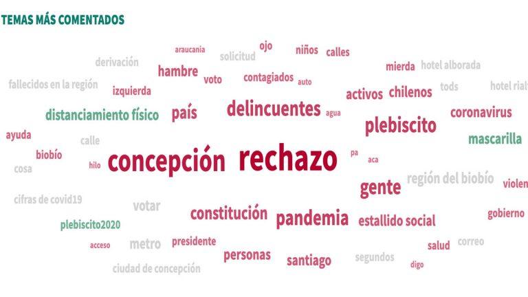 Pandemia, plebiscito y delincuencia, los temas que más preocupan en Concepción