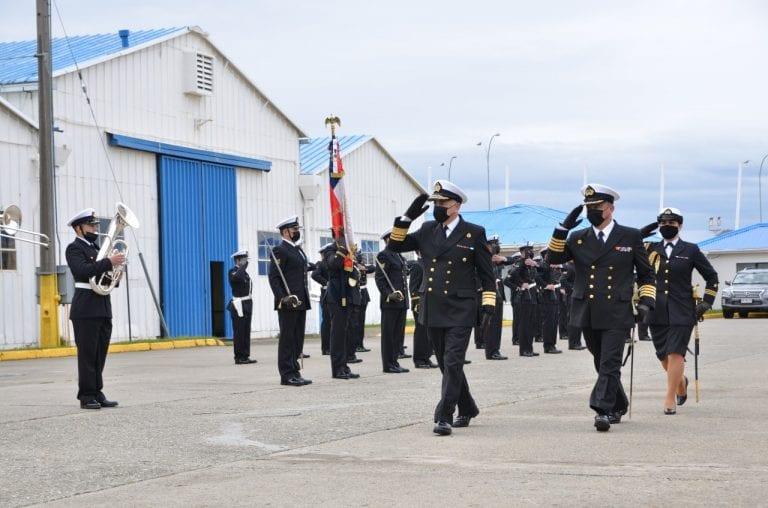 Punta Arenas: Asume nuevo comandante en Jefe en la Tercera Zona Naval