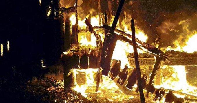 Nuevos ataques incendiarios dejan tres cabañas destruidas en Contulmo