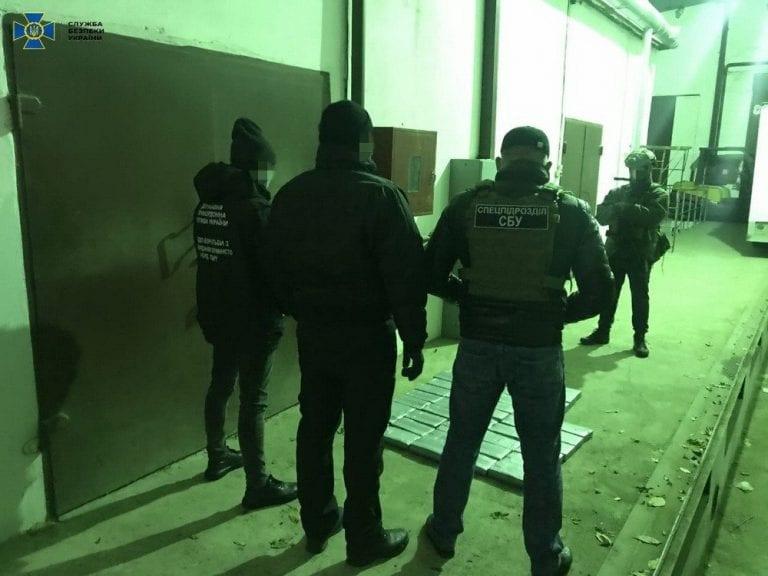 En puerto de Ucrania descubren 45 kilos de cocaína en un contenedor de frutas de Ecuador