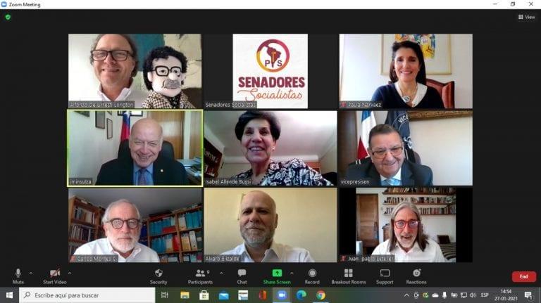 Senadores PS le dan el visto bueno a candidatura presidencial de Paula Narváez