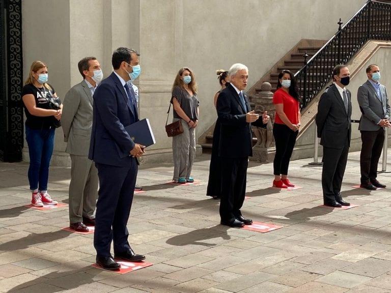 Presidente Piñera anunció suma urgencia para proyecto que crea Servicio de Defensoría para las Víctimas
