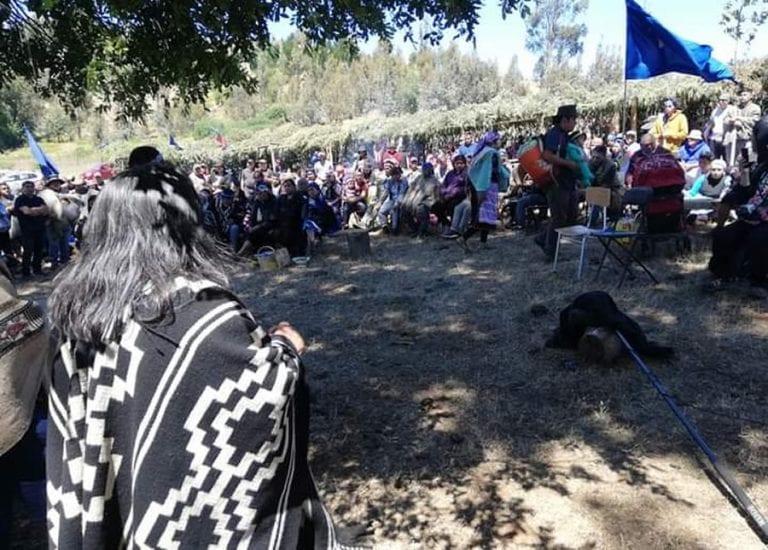"""Comunidades de Temucuicui anunciaron creación de """"Policía Comunitaria Mapuche"""" ante agresión y amenaza de """"la policía estatal chilena"""""""