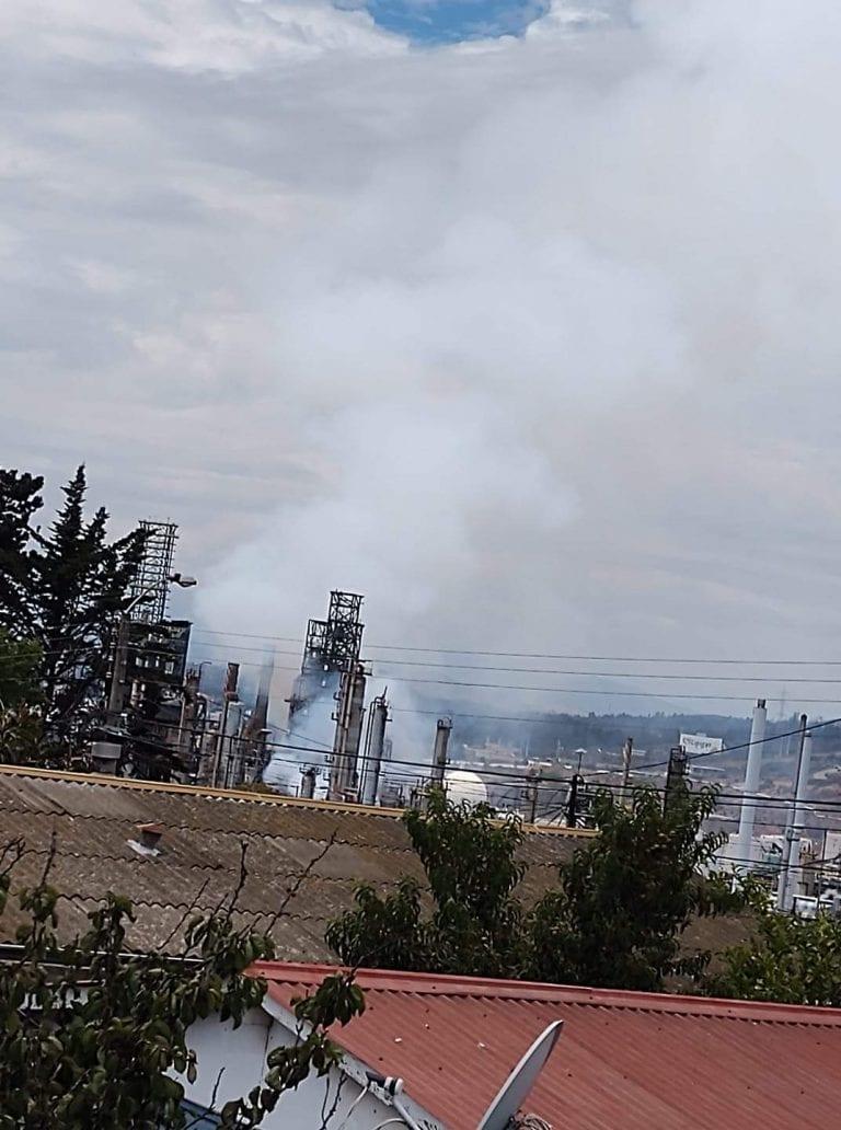 Alarma en Concón por incidente en refinería: ENAP descartó heridos o daños medioambientales