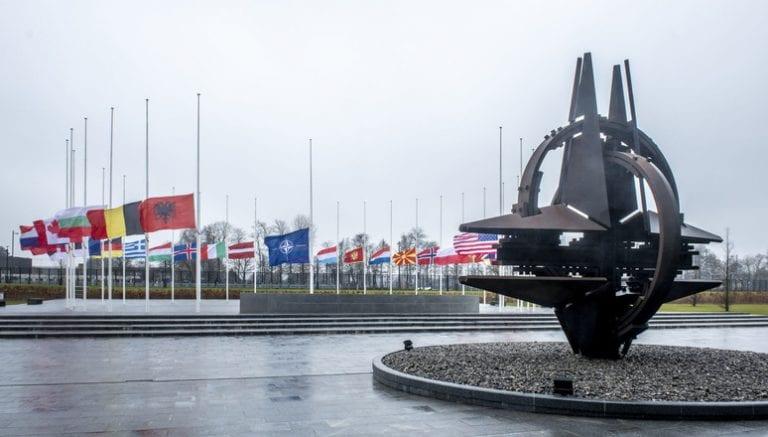 Conmemoración de las víctimas del Holocausto en la sede de la OTAN