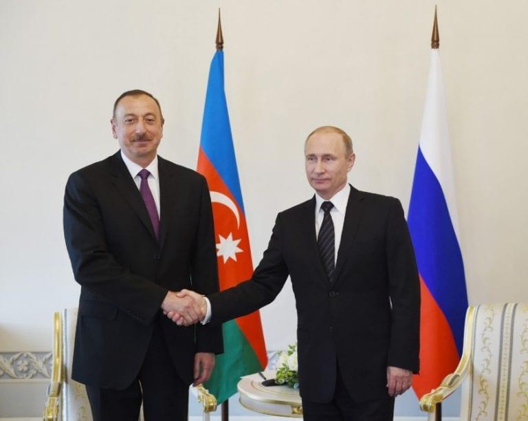 Presidentes de Rusia y Azerbaiyán dan el vamos al Centro de Monitoreo en Nagorno Karabaj